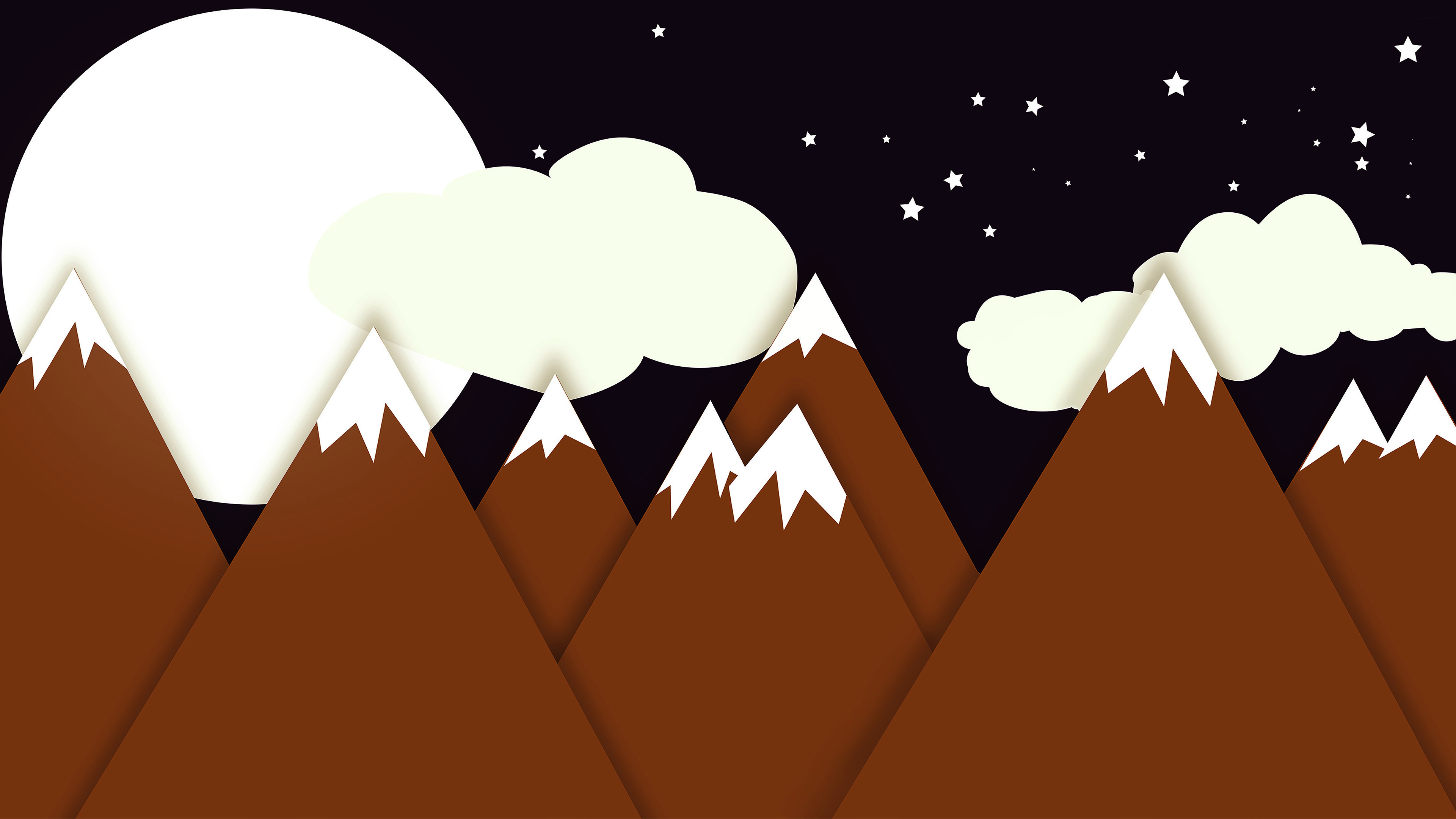Cool Wallpaper Mountain Cartoon - mountain-minimalistic-4k-50974-3840x2160  Picture_139766.jpg