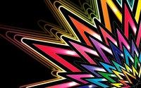 Neon stars wallpaper 2560x1600 jpg