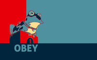 Obey wallpaper 1920x1200 jpg