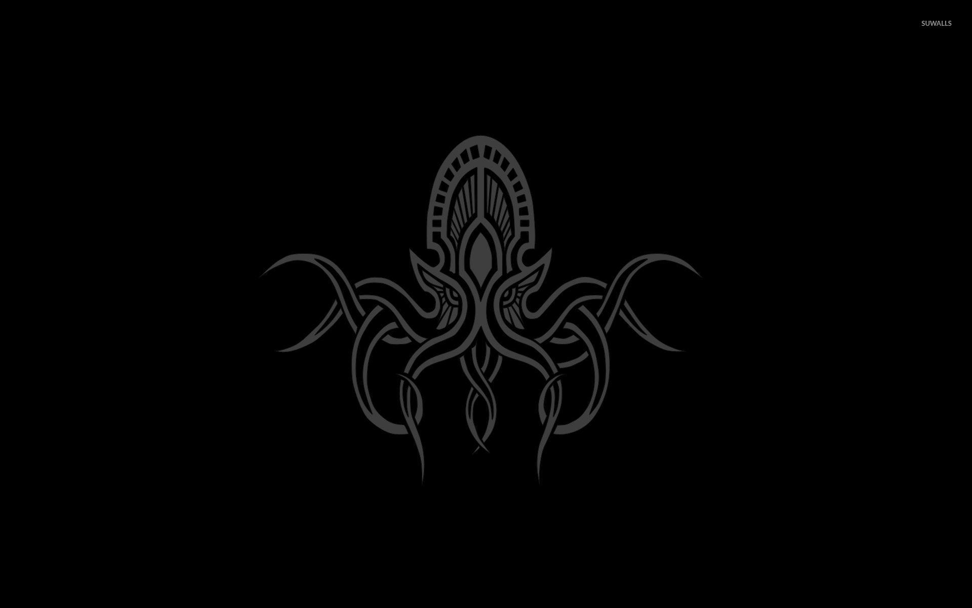 Octopus King Wallpaper