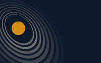 Orbits around the Sun wallpaper 1920x1200 jpg