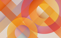 Pastel overlapping rings and stripes wallpaper 2560x1600 jpg