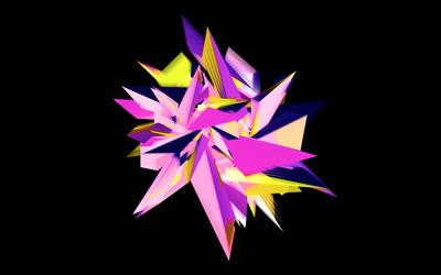 Pointy star wallpaper