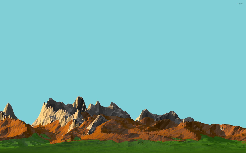 Popular Wallpaper Mountain Polygon - polygon-mountain-range-26676-2880x1800  2018_526183.jpg