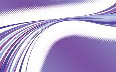 Purple curves [4] wallpaper