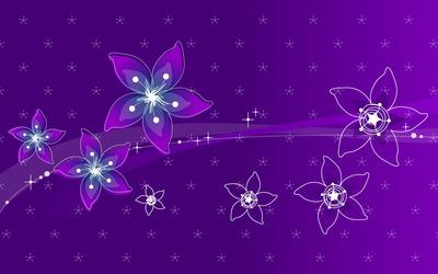 Purple flowers [2] wallpaper