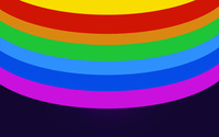 Rainbow colored circles [2] wallpaper 2880x1800 jpg