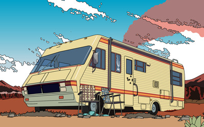 Recreational vehicle wallpaper