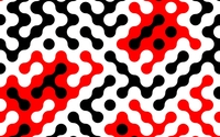 Red and black shapes wallpaper 3840x2160 jpg