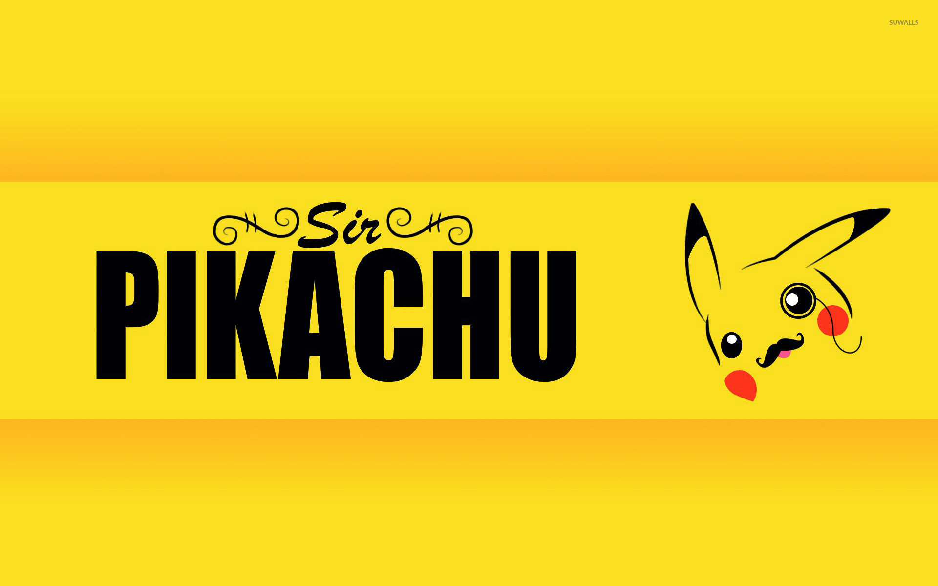 Sir Pikachu Wallpaper 1920x1200 Jpg