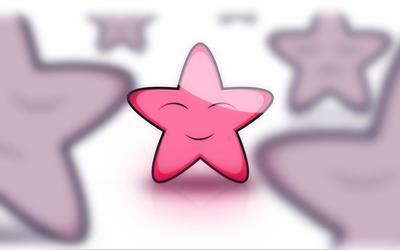 Smiling star wallpaper