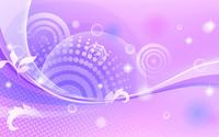 Sparkling waves and circle wallpaper 1920x1200 jpg