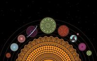 Spiral Solar System wallpaper 1920x1200 jpg
