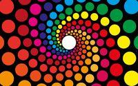 Spiraling circles wallpaper 2880x1800 jpg