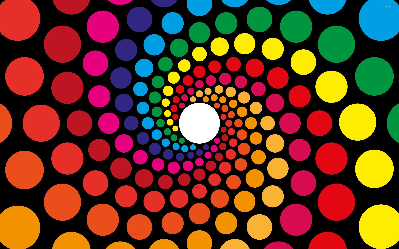 spiraling circles wallpaper vector wallpapers 26766