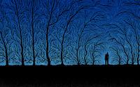 Spooky forest wallpaper 2560x1600 jpg