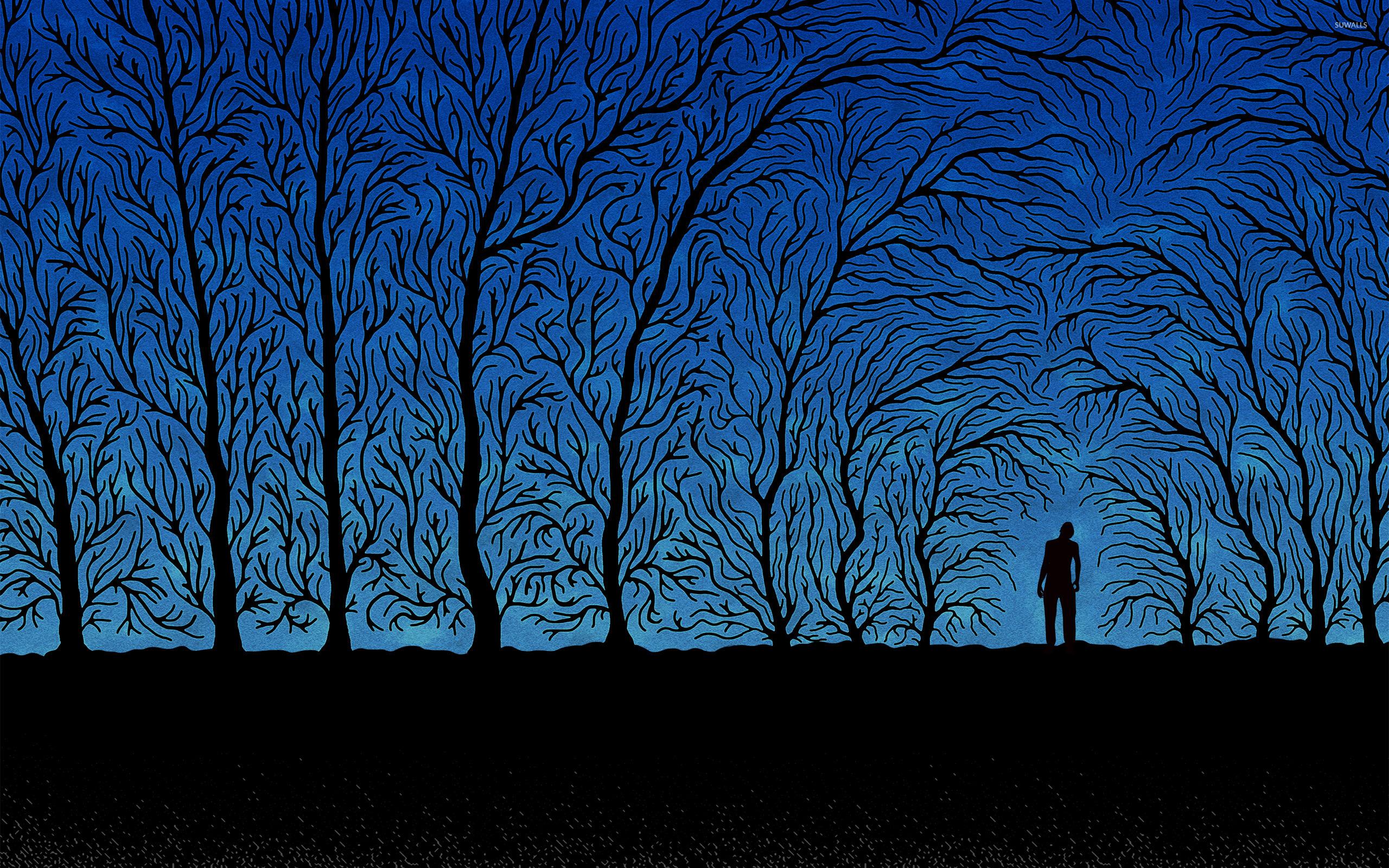 Spooky Forest Wallpaper
