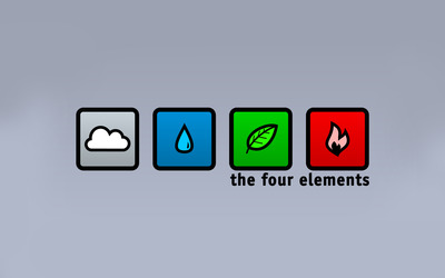 The four elements wallpaper