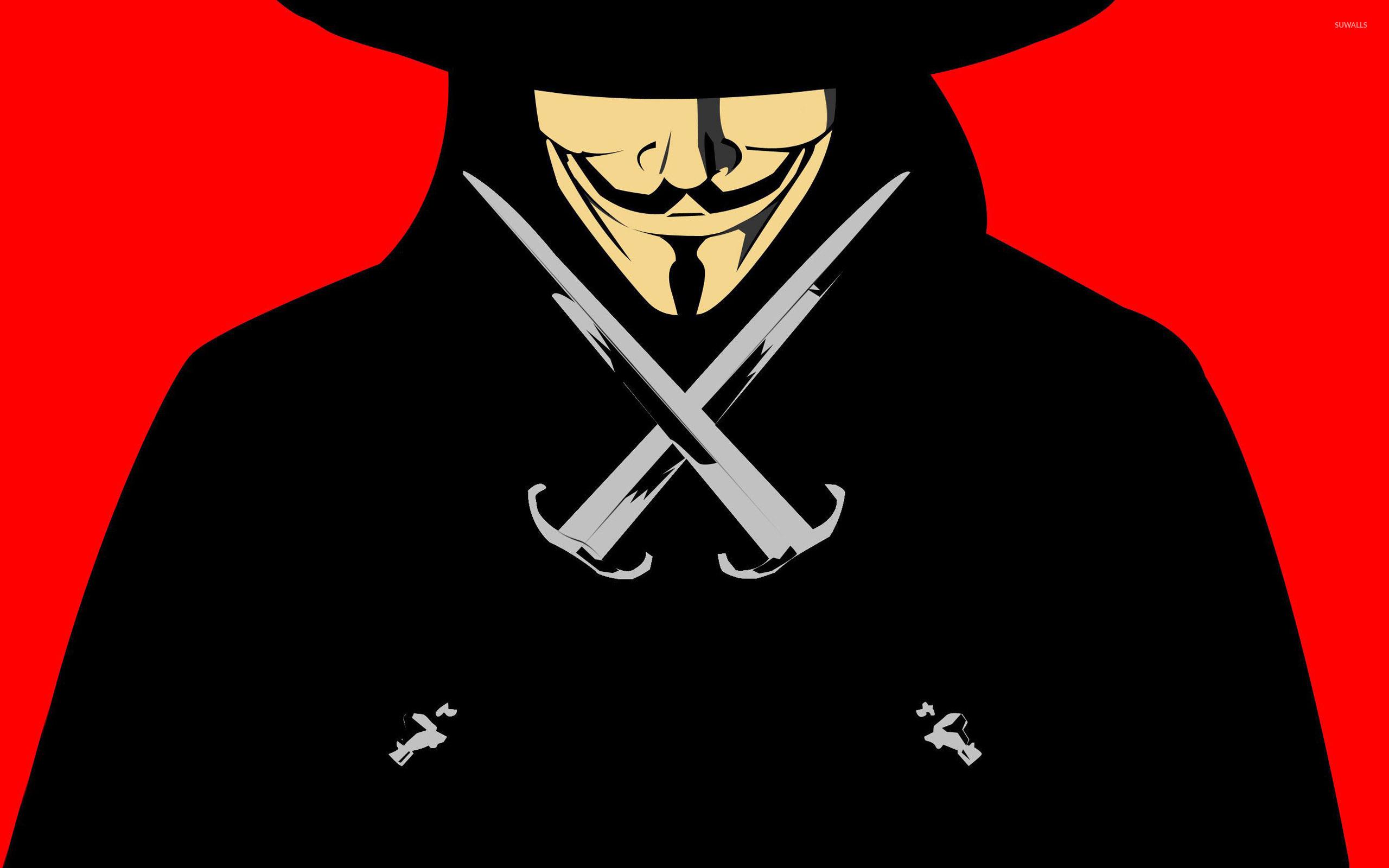 V For Vendetta Wallpaper Vector Wallpapers 27619