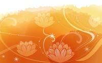 Water lilies [7] wallpaper 1920x1200 jpg
