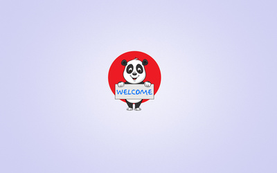 Welcome wallpaper