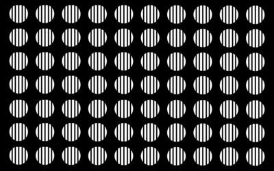 White circles wallpaper