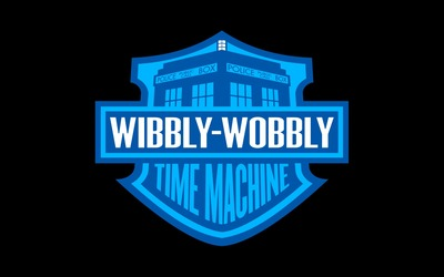 Wibbly-Wobbly Time Machine wallpaper