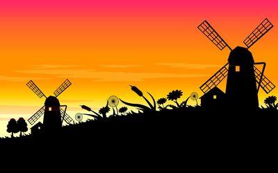 Windmills [3] wallpaper