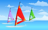 Windsurfing wallpaper 1920x1200 jpg