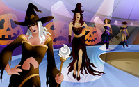 Witch Fashion Show wallpaper 1920x1200 jpg