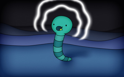 Worm wallpaper