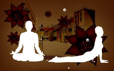 Yoga wallpaper