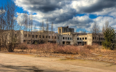 Abandoned factory [2] Wallpaper