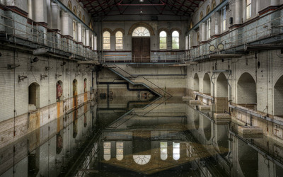 Abbey Mills Pumping Stations wallpaper