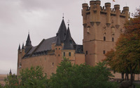 Alcazar of Segovia wallpaper 3840x2160 jpg