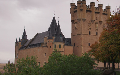 Alcazar of Segovia wallpaper