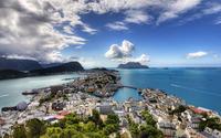Alesund, Norway wallpaper 1920x1080 jpg