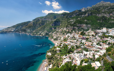 Amalfi Coast wallpaper