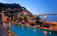 Amazing lights in Amalfi wallpaper 1920x1200 jpg