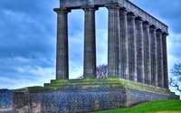 Ancient columns wallpaper 3840x2160 jpg