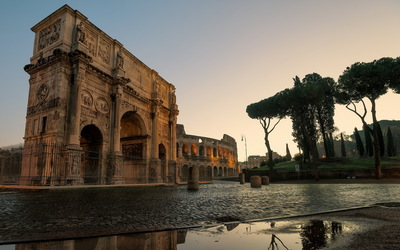 Arch of Constantine wallpaper