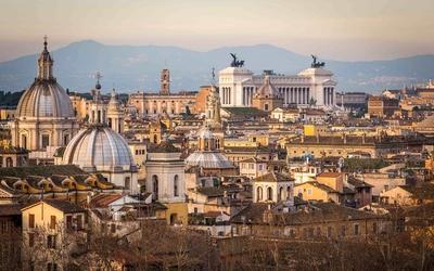 Autumn in Rome wallpaper