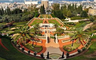 Baha'i gardens wallpaper