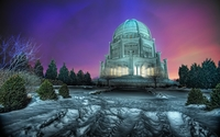 Baha'i House of Worship wallpaper 2560x1600 jpg