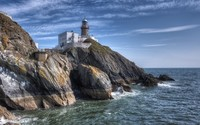 Baily Lighthouse, Howth Head wallpaper 1920x1080 jpg