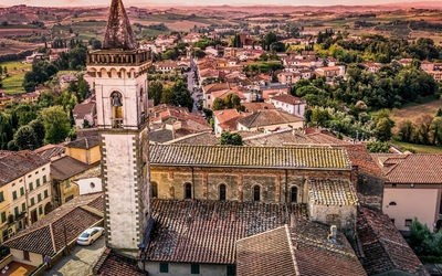 Basilica of Santa Croce in Italy wallpaper