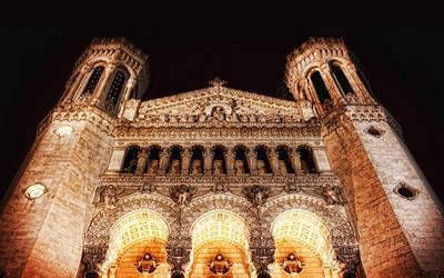 Basilique Notre-Dame de Fourviere wallpaper