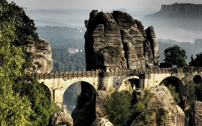Bastei bridge wallpaper