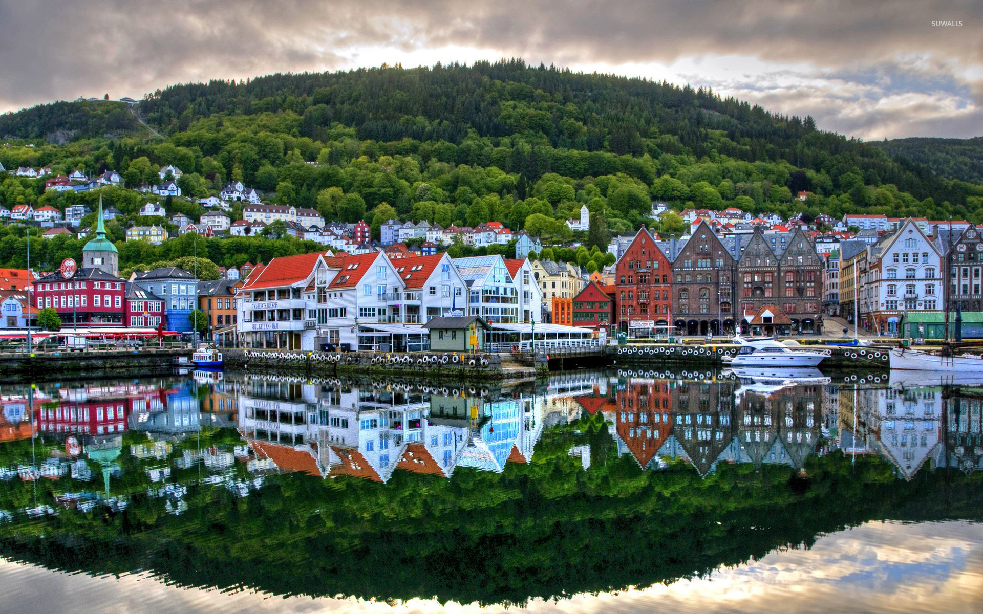 Bergen, Norway wallpaper