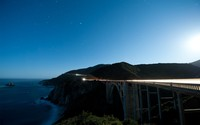 Bixby Creek Bridge at night wallpaper 2880x1800 jpg